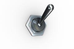 Ψηφιακά παραγμένος διακόπτης κτυπήματος μετάλλων διανυσματική απεικόνιση