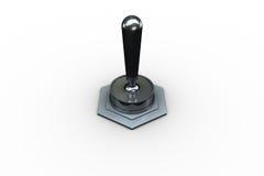 Ψηφιακά παραγμένος διακόπτης κτυπήματος μετάλλων απεικόνιση αποθεμάτων