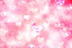 Ψηφιακά παραγμένο girly σχέδιο καρδιών Στοκ εικόνα με δικαίωμα ελεύθερης χρήσης