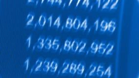 Ψηφιακά στοιχεία τηλετύπων χρηματιστηρίου απόθεμα βίντεο