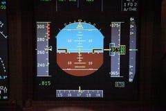ψηφιακά όργανα πτήσης Στοκ φωτογραφία με δικαίωμα ελεύθερης χρήσης