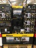 Ψηφιακές κάμερα Nikon Στοκ εικόνα με δικαίωμα ελεύθερης χρήσης