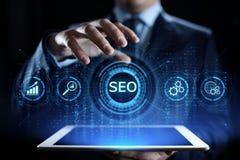 Ψηφιακή έννοια επιχειρησιακής τεχνολογίας μάρκετινγκ βελτιστοποίησης μηχανών αναζήτησης SEO ελεύθερη απεικόνιση δικαιώματος