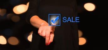 Ψηφιακή έννοια πώλησης Στοκ Εικόνες