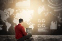 Ψηφιακή έννοια τεχνολογίας στοκ εικόνες