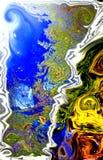Ψηφιακή έννοια του Βερμόντ Στοκ φωτογραφία με δικαίωμα ελεύθερης χρήσης