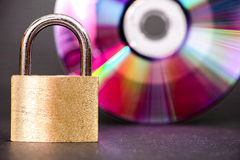 Ψηφιακή ασφάλεια Στοκ Εικόνες