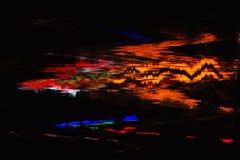 Ψηφιακή αφηρημένη διαστρέβλωση δυσλειτουργιών σύστασης υποβάθρου οθόνης Στοκ Εικόνα