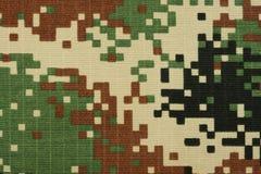 ψηφιακή δασώδης περιοχή camo στοκ εικόνα με δικαίωμα ελεύθερης χρήσης