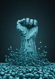 ψηφιακή επανάσταση ελεύθερη απεικόνιση δικαιώματος