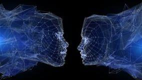 Ψηφιακή επικοινωνία διανυσματική απεικόνιση