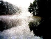 ψηφιακή ζωγραφική τοπίων Στοκ φωτογραφία με δικαίωμα ελεύθερης χρήσης