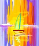 ψηφιακή ζωγραφική διανυσματική απεικόνιση