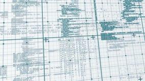 Ψηφιακή ζωτικότητα της μήτρας απεικόνιση αποθεμάτων