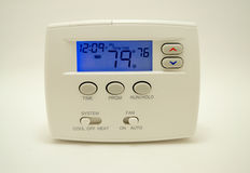 ψηφιακή θερμοστάτης στοκ εικόνες