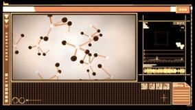 Ψηφιακή διεπαφή που χαρακτηρίζει τα μειωμένα μόρια ελεύθερη απεικόνιση δικαιώματος