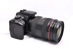 Ψηφιακή κάμερα με το φακό Στοκ Φωτογραφία