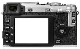 Ψηφιακή κάμερα που απομονώνεται Στοκ φωτογραφία με δικαίωμα ελεύθερης χρήσης