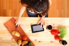Ψηφιακή κουζίνα Στοκ Φωτογραφίες