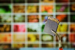 ψηφιακή μνήμη καρτών Στοκ εικόνα με δικαίωμα ελεύθερης χρήσης