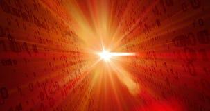 Ψηφιακή πυρκαγιά - αημένη ζωτικότητα πηγή περιτύλιξης τεχνολογίας ελεύθερη απεικόνιση δικαιώματος