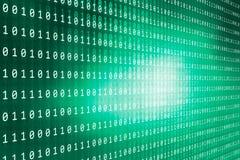 Ψηφιακή σειρά έννοιας υποβάθρου δυαδικών κωδίκων Στοκ Εικόνες