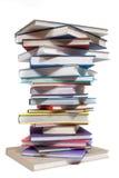 ψηφιακή στοίβα πλέγματος απεικόνισης κλίσεων βιβλίων Στοκ φωτογραφία με δικαίωμα ελεύθερης χρήσης
