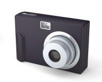 Ψηφιακή συμπαγής κάμερα φωτογραφιών στο λευκό Στοκ εικόνα με δικαίωμα ελεύθερης χρήσης
