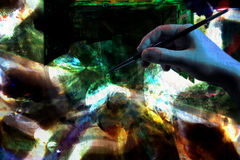 Ψηφιακή τέχνη Στοκ φωτογραφία με δικαίωμα ελεύθερης χρήσης