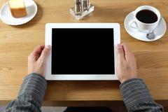 Ψηφιακή ταμπλέτα με την κενή οθόνη στοκ εικόνα με δικαίωμα ελεύθερης χρήσης
