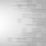 Ψηφιακή τεχνολογία του μέλλοντος Στοκ εικόνα με δικαίωμα ελεύθερης χρήσης