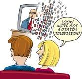 ψηφιακή τηλεόραση απεικόνιση αποθεμάτων