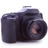 Ψηφιακή φωτογραφική μηχανή φωτογραφιών slr Στοκ φωτογραφίες με δικαίωμα ελεύθερης χρήσης