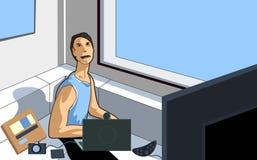 ψηφιακή ψυχαγωγία διανυσματική απεικόνιση