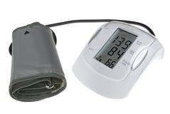 Ψηφιακή mesuring συσκευή πίεσης του αίματος που απομονώνεται στο λευκό Στοκ εικόνες με δικαίωμα ελεύθερης χρήσης