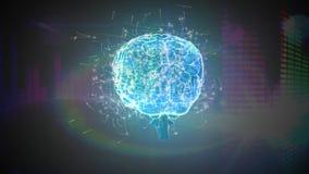 Ψηφιακός εγκέφαλος και η τέχνη μέσων απεικόνιση αποθεμάτων