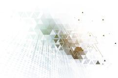 Ψηφιακός κόσμος τεχνολογίας Επιχειρησιακή εικονική έννοια διάνυσμα Στοκ φωτογραφία με δικαίωμα ελεύθερης χρήσης