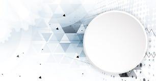 Ψηφιακός κόσμος τεχνολογίας Επιχειρησιακή εικονική έννοια διάνυσμα Στοκ φωτογραφίες με δικαίωμα ελεύθερης χρήσης