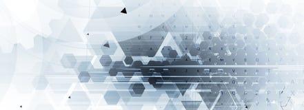Ψηφιακός κόσμος τεχνολογίας Επιχειρησιακή εικονική έννοια διάνυσμα Στοκ Εικόνες