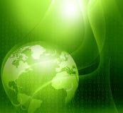 Ψηφιακός κόσμος Στοκ εικόνα με δικαίωμα ελεύθερης χρήσης