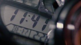Ψηφιακός μετρώντας χρόνος ρολογιών φιλμ μικρού μήκους