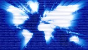 ψηφιακός πλανήτης χαρτών δ&upsilo ελεύθερη απεικόνιση δικαιώματος