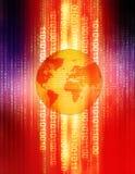 ψηφιακός πλανήτης διανυσματική απεικόνιση