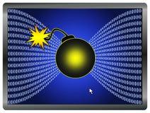 Ψηφιακός πόλεμος Στοκ εικόνες με δικαίωμα ελεύθερης χρήσης
