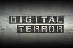Ψηφιακός τρόμος GR Στοκ Εικόνες