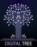 ψηφιακό δέντρο Στοκ Εικόνα