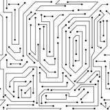 Ψηφιακό αφηρημένο άνευ ραφής σχέδιο διανυσματική απεικόνιση