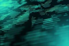Ψηφιακό γραφικό παραγμένο υπολογιστής ενεργειακών κινήσεων υπόβαθρο θαμπάδων αντιγράφων διαστημικό απεικόνιση αποθεμάτων