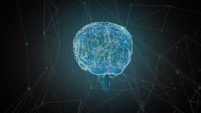 Ψηφιακό δίκτυο εγκεφάλου ελεύθερη απεικόνιση δικαιώματος