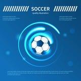 Ψηφιακό διανυσματικό σχέδιο ποδοσφαίρου ελεύθερη απεικόνιση δικαιώματος
